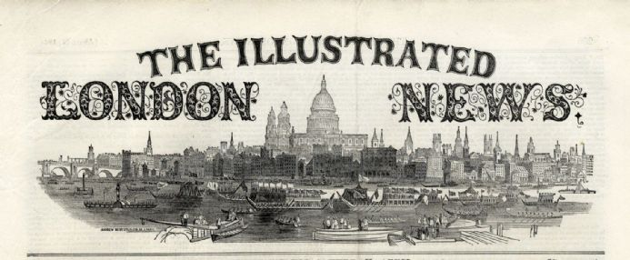 1859 ILLUSTRATED LONDON NEWS Broome Wall St New York CORK MARKET Victorian Newspaper (7690)